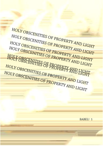 1 (web) issue; holy obscenities of property and light_1