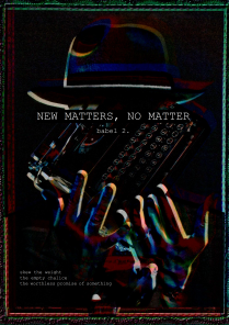 2 (web) issue; new matters, no matter_1